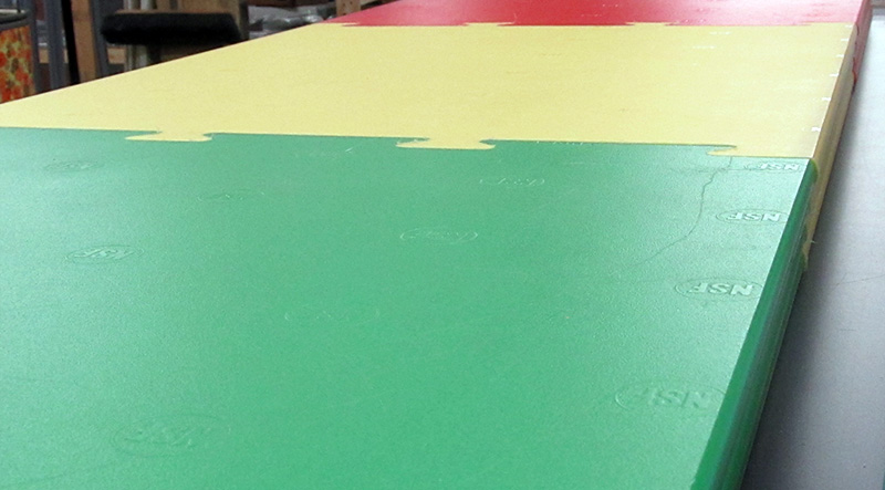 Color Commercial Cutting Boards